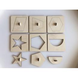 Трафареты Геометрия 1