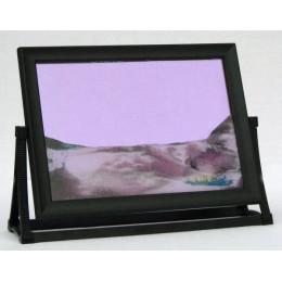 Пересыпная картина Живые пейзажи фиолетовая