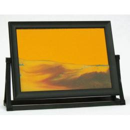 Пересыпная картина Живые пейзажи оранжевая