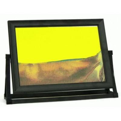 Пересыпная картина Живые пейзажи желтая