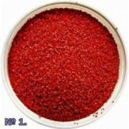 Песок красный