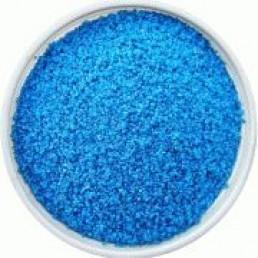 Песок голубой