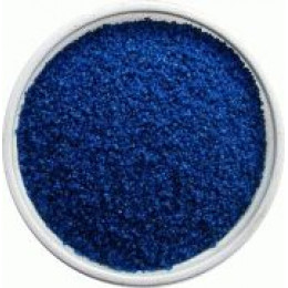 Песок синий