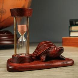 Деревянные песочные часы Черепашка на 5 минут