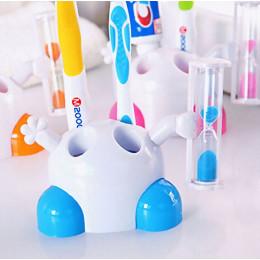 Подставка для зубных щеток Человечек синий
