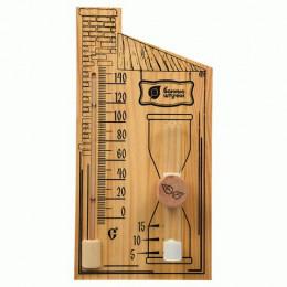 Песочные часы с термометром